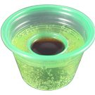 Disposable Jager Bomb Cups - 100 Pieces Green