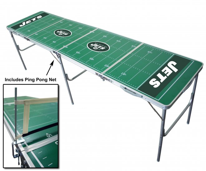 Official NFL Tailgate Table - New York Jets