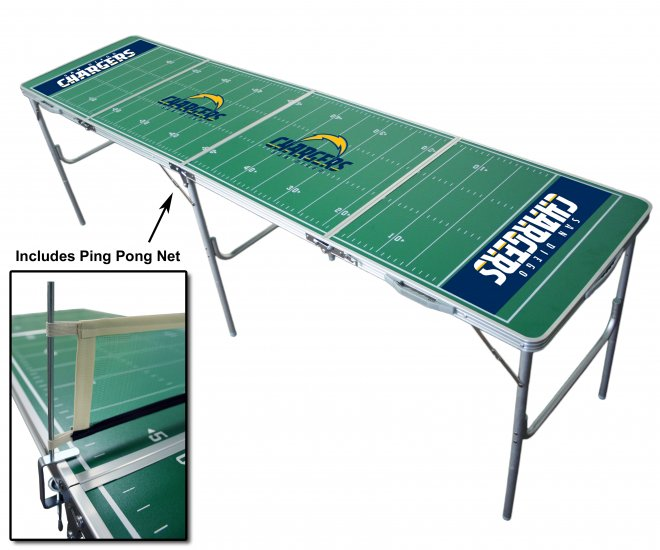 Official NFL Tailgate Table - San Diego Chargers