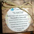 Earth Patchouli and Emerald Big Bar Soap