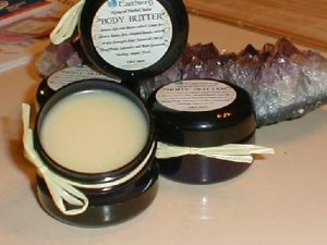 "PATCHOULI Body Butter"" Natural Moisturizing Herbal Salve"