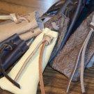<*) Soft Hide Medicine/Tobacco Bag FREE SHIPPING Small