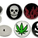 Steel Ear Plug with different logo