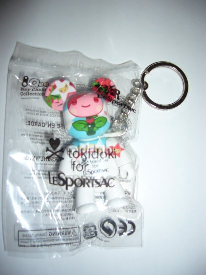NEW LeSportsac Tokidoki Bear Key Chain