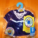 "Madeline 15"" Doll Dress Purple Velvet"