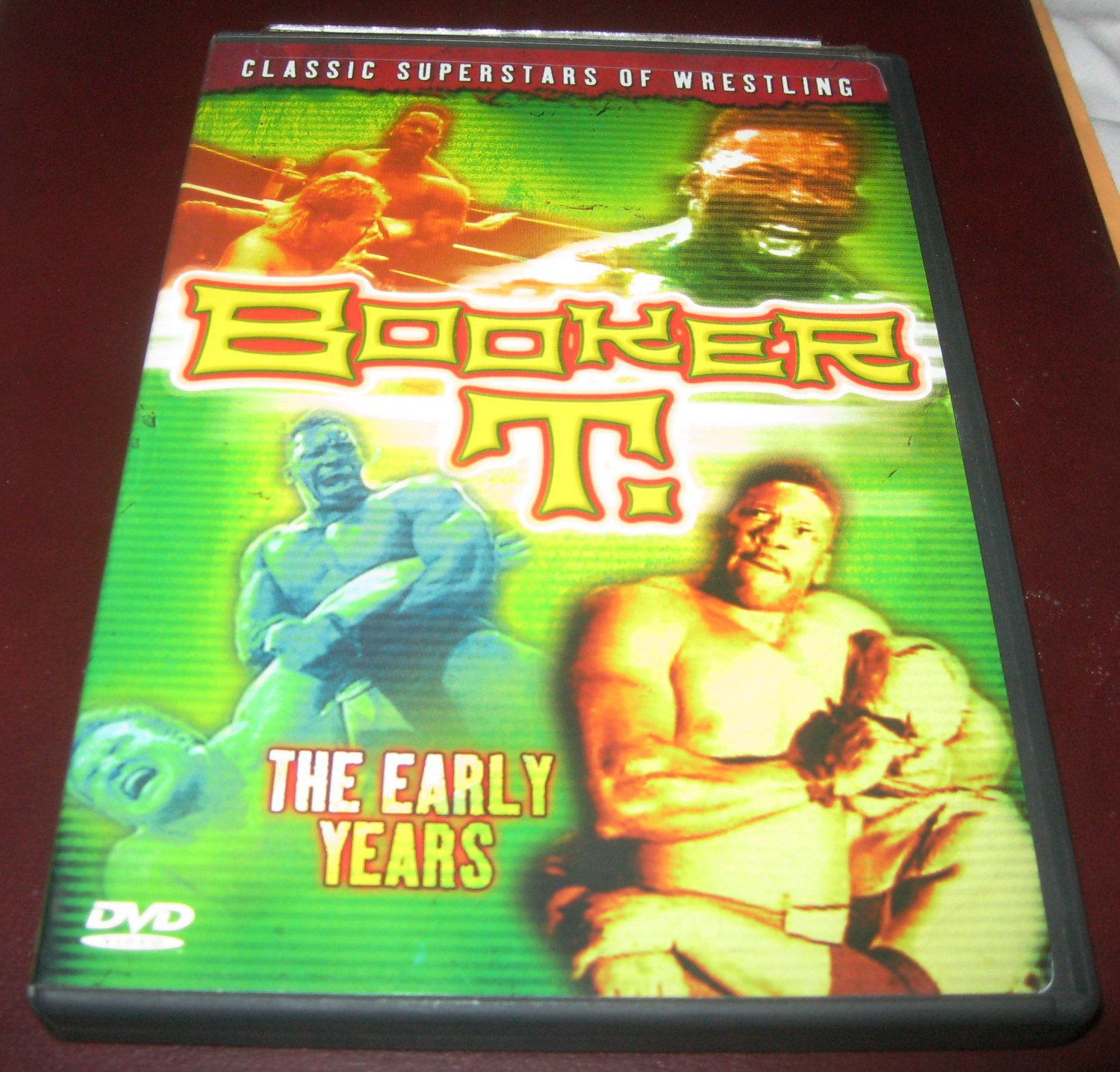 Booker T The Early Years Dvd