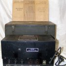 Signal Corps U. S. Army Rectifier RA-87-A Serial # 812