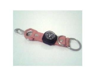 Little Compass Keychain: Red