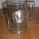 Clear Glass Dog Stein