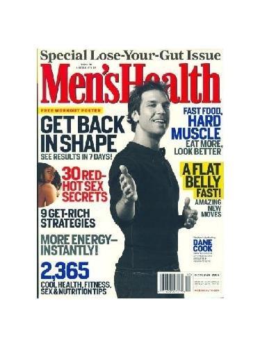Men's Health October 2006 Dane Cook