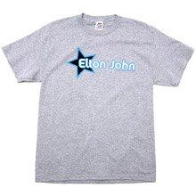 Elton John Men's Star Heather T-Shirt