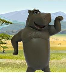 Happy Meal Madagascar II Toy- Motto