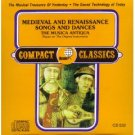 Medieval & Renaissance Songs & Dances by Musica Antiqua