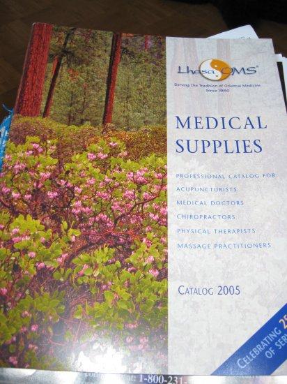 Medical Supplies Catalog 2005 Lhasa OMS