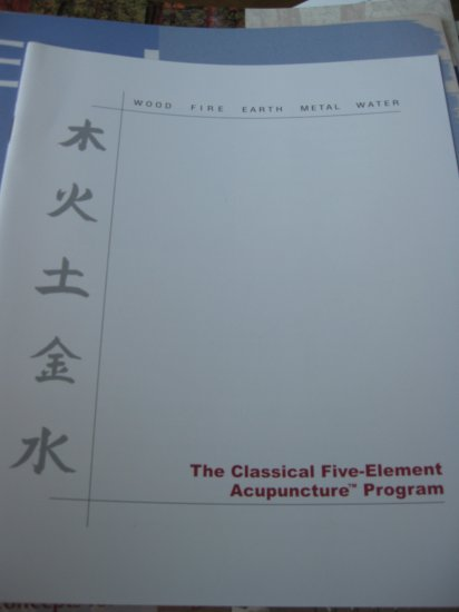 The Classical Five-Element Acupuncture Program