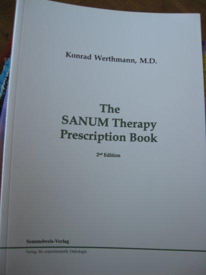 The SANUM Therapy Prescription Book