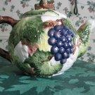 Porcelain flower tea pot