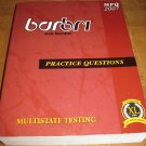 BarBri NY 2007 Multistate Practice Questions