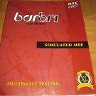 BarBri NY Simulated MBE 2007