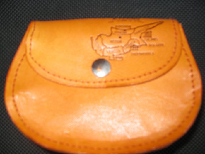 Stylish Money-bag Genuine Leather made in Cyprus
