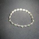 Green stone stretchable bracelet
