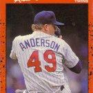 Card #64 Allan Anderson