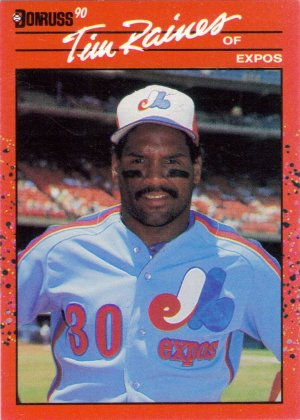 Card #216 Tim Raines