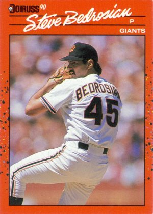Card #295 Steve Bedrosian