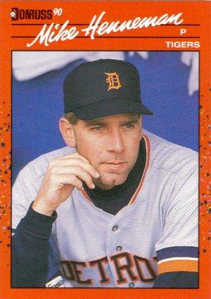 Card #296 Mike Henneman
