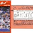 Card #307 Duane Ward