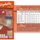 Card #313 Lenny Dykstra