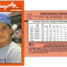 Card #314 Jose Gonzalez