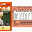 Card #317 Ron Oester