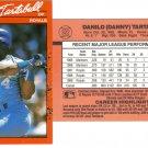 Card #322 Danny Tartabull