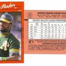 Card #328 Dave Parker