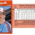 Card #334 Tim Burke