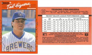 Card #339 Ted Higuera