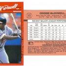 Card #340 Oddibe McDowell