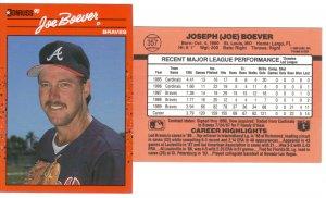 Card #357 Joe Boever