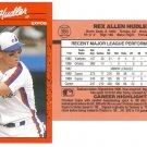 Card #366 Rex Hudler