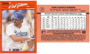 Card #368 Kirk Gibson