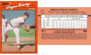 Card #372 Bryan Harvey