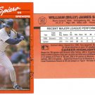 Card #382 Bill Spiers