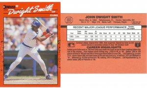 Card #393 Dwight Smith