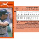 Card #398 Jody Reed