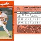 Card #401 Rene Gonzales