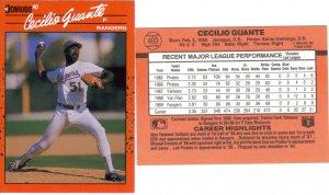 Card #403 Cecilio Guante