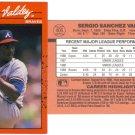 Card #405 Sergio Valdez