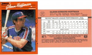Card #407 Glenn Hoffman