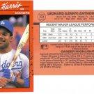 Card #434 Lenny Harris